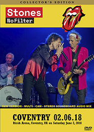 Rolling Stones - Coventry 2018 Soundboard